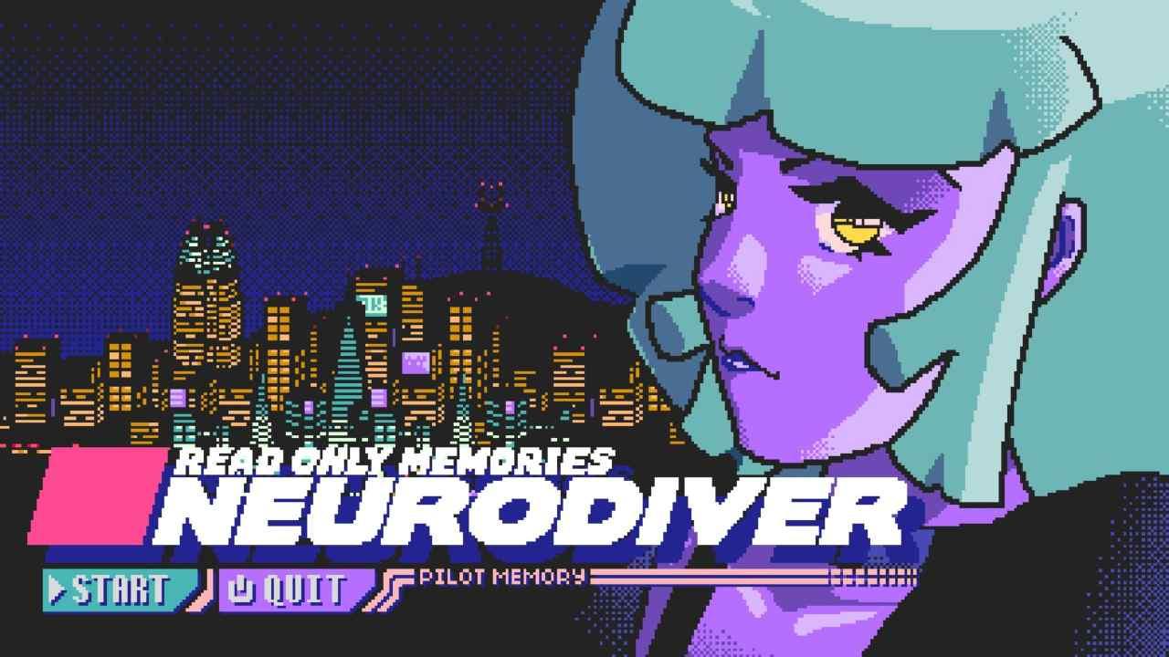 DEMO PROVATA PER VOI - Read Only Memories: Neurodiver : Cyber Candy