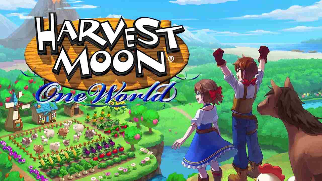 Harvest Moon One World slow gaming