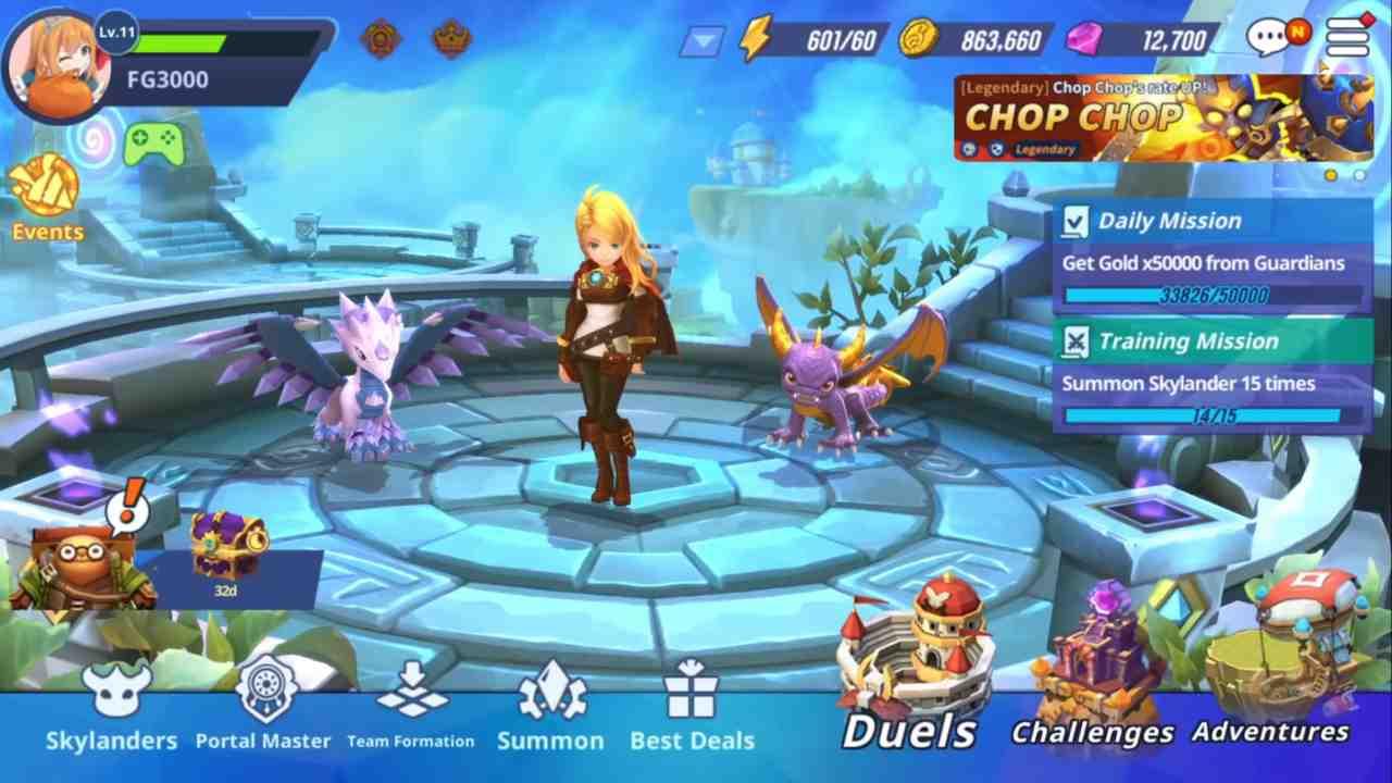 Nuovo personaggio per Skylanders Ring of Heroes lo RPG di Com2uS