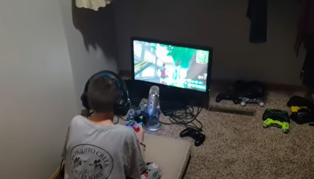 Videogiochi bambino