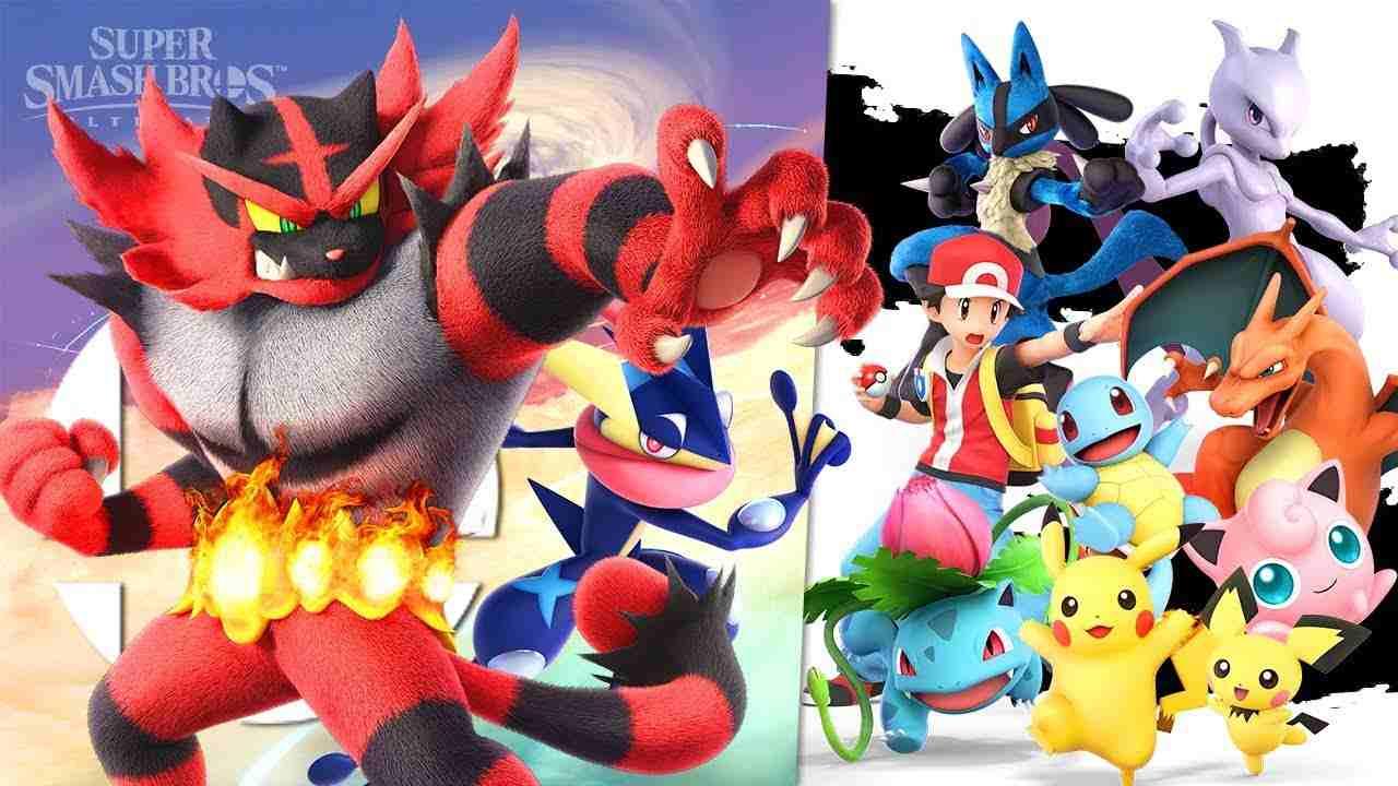 super smash bros pokemon