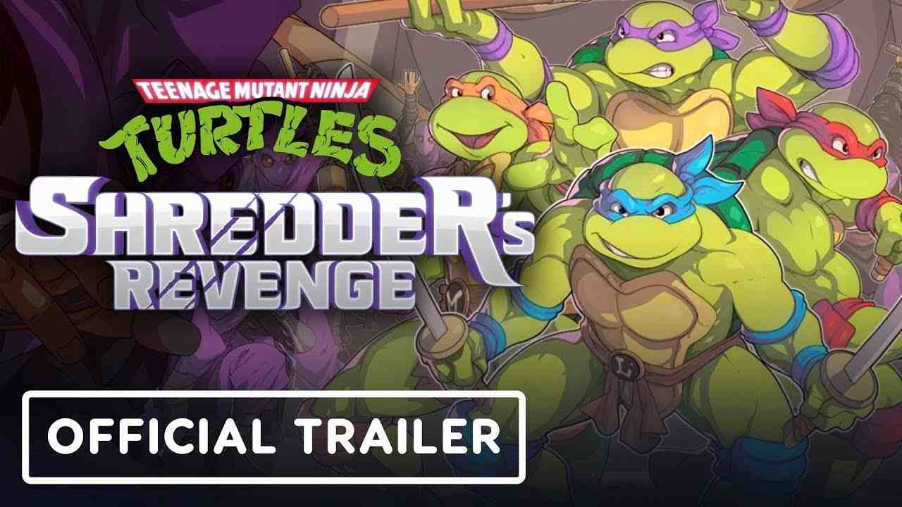 teenage mutant ninja turtles shredder's revenge trailer
