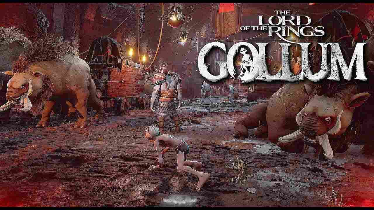 the lord of the rings gollum gameplay