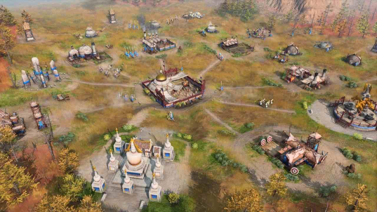 Age of Empires IV città