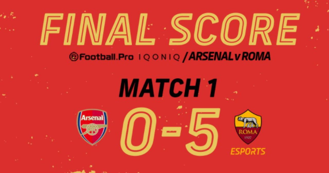 Arsenal Roma 0-5 Pes21