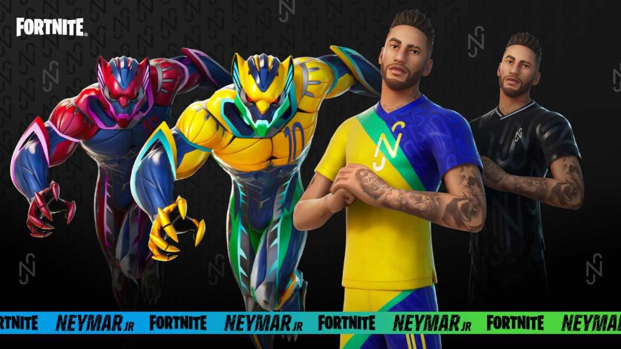 Fortnite Neymar Jr