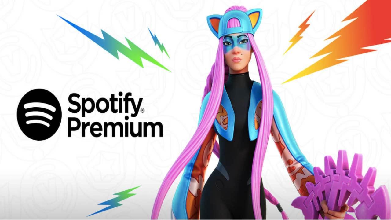 Fortnite e Spotify