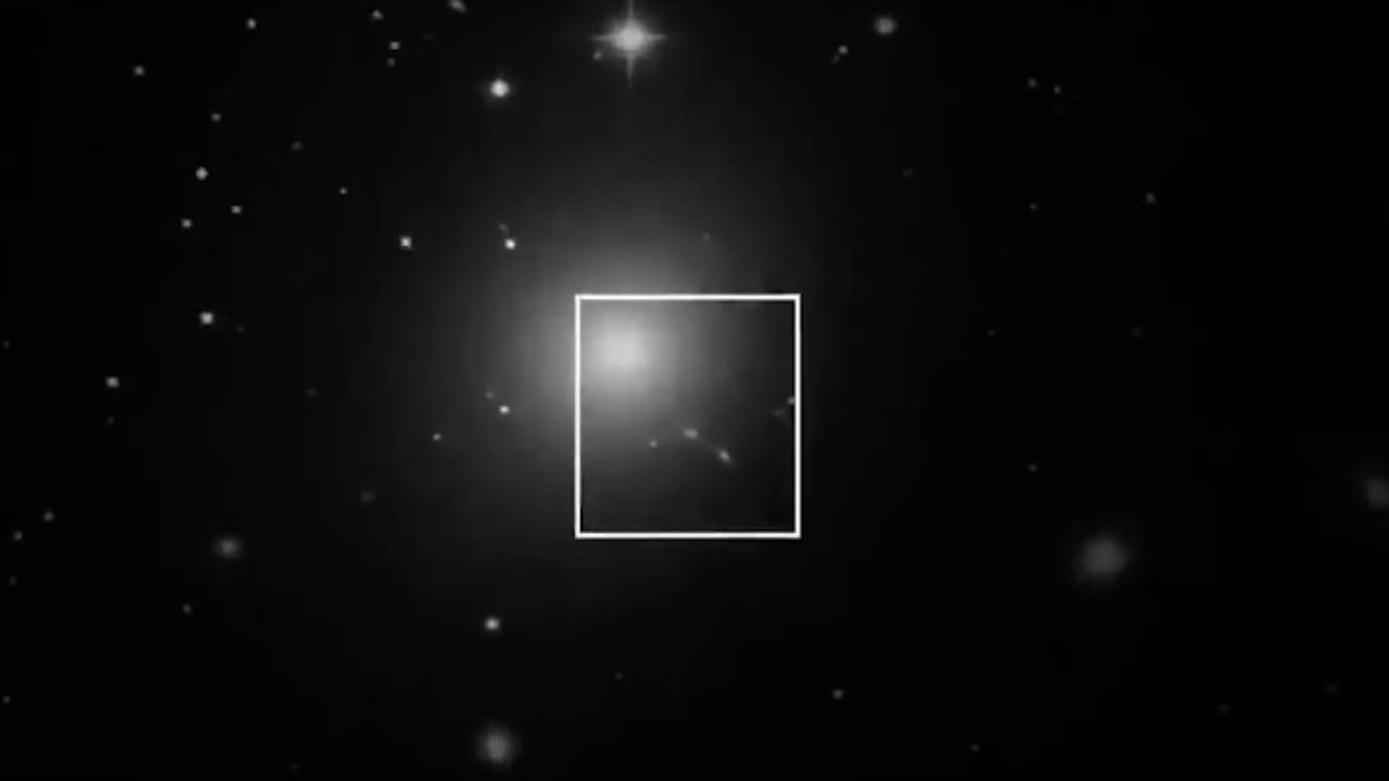 Foto primo buco nero