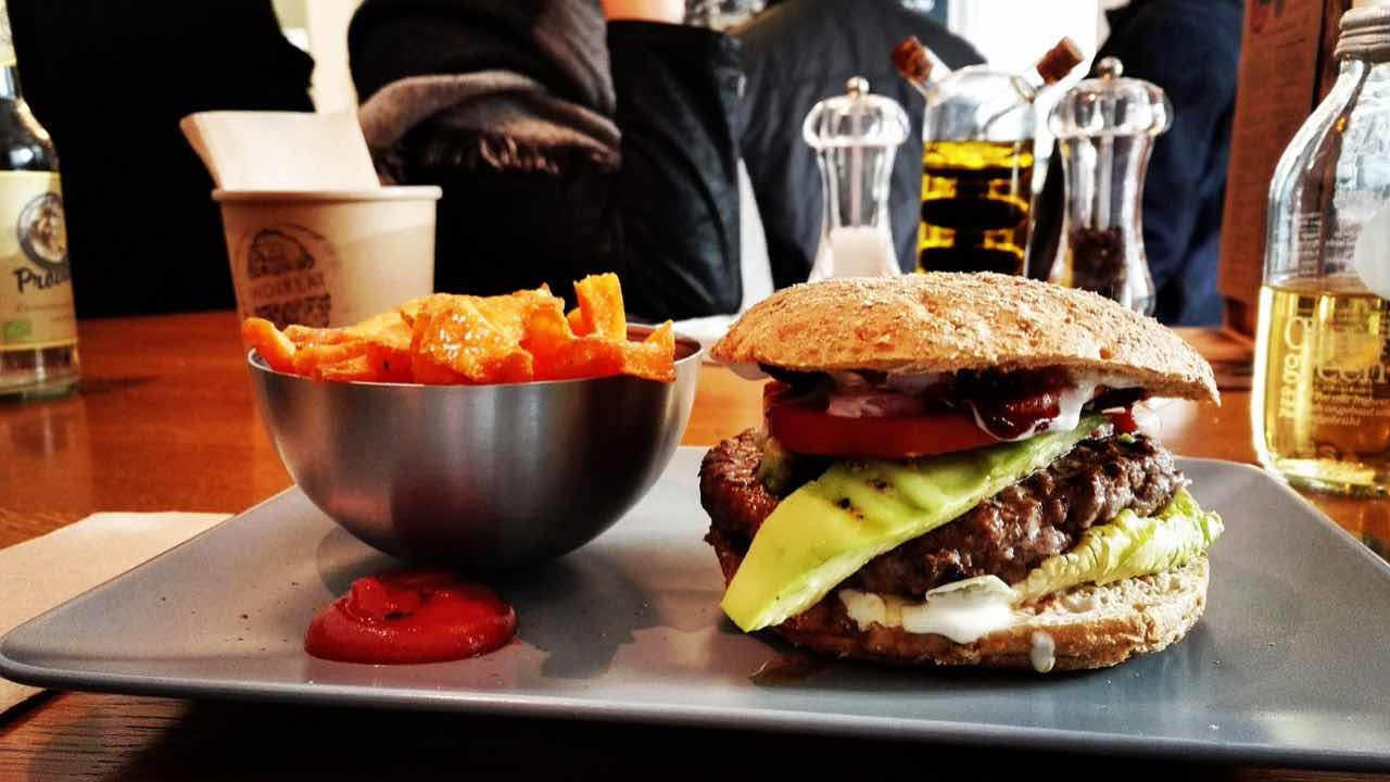 Hamburger gratis