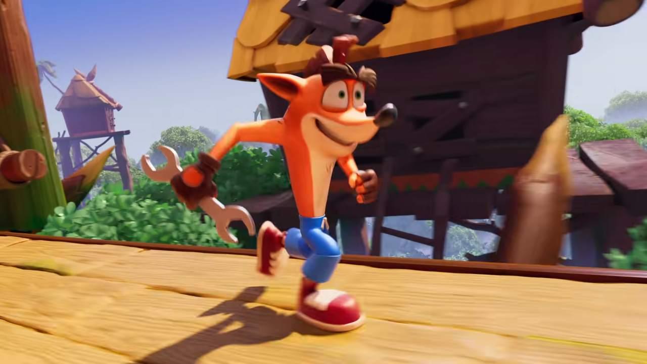 King, Crash Bandicoot On The Run corre veloce anche su mobile