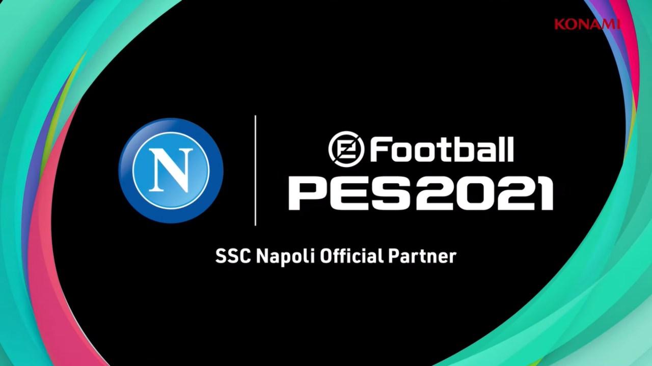 Napoli e Konami partenr ufficiali