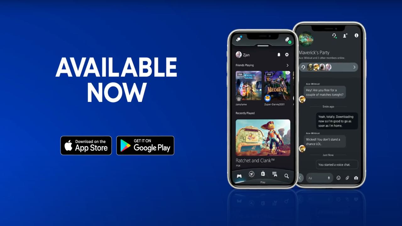 PlayStation App aggiornata