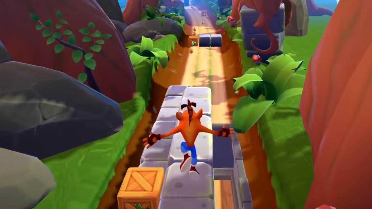 The Noid su Crash Bandicoot: On The Run per l'anniversario dei 35 anni