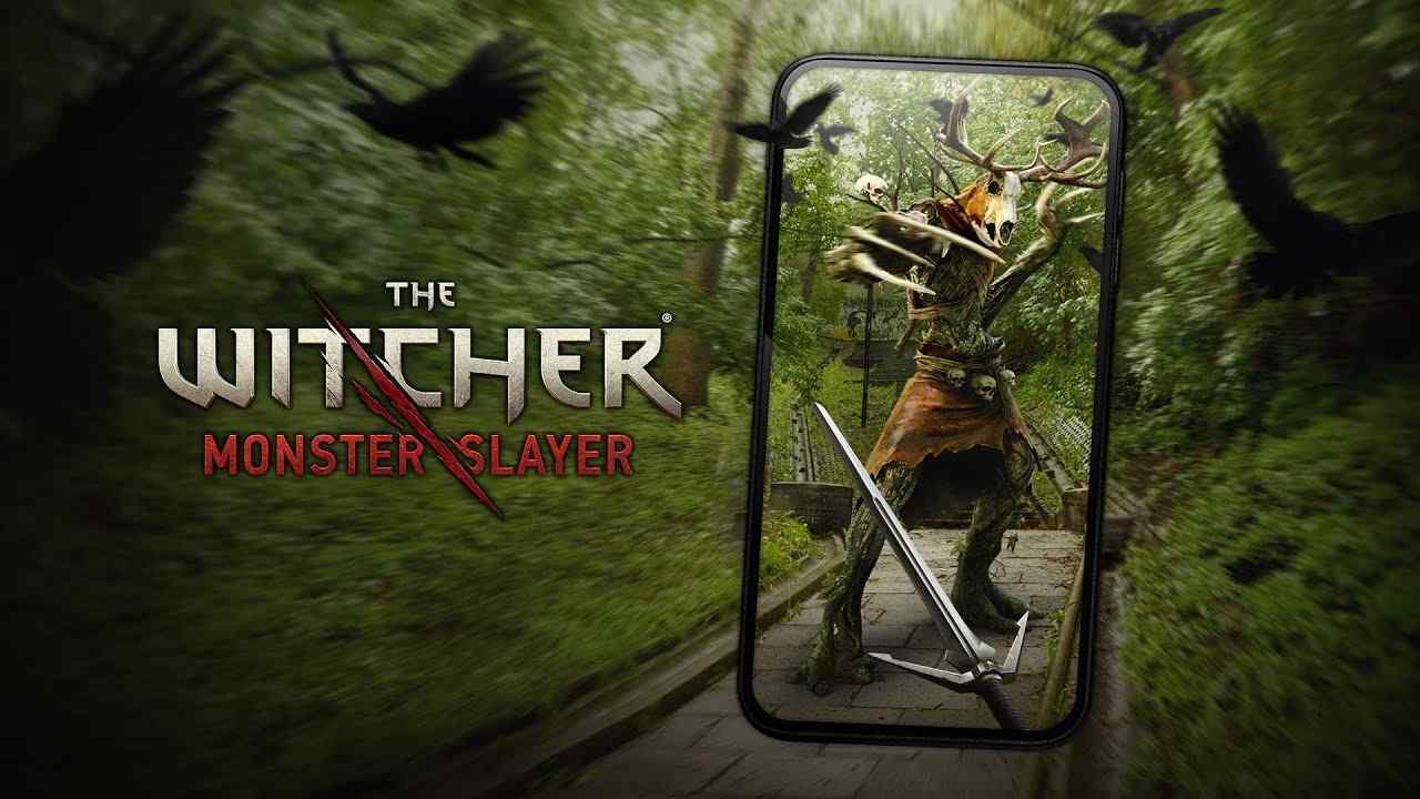 The Witcher Monster Slayer smartphone