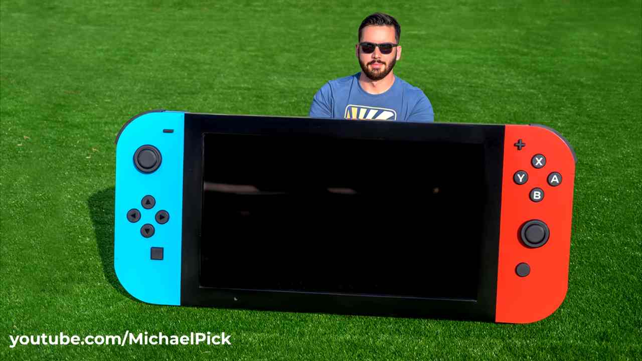 Una Nintendo Switch gigante? Esiste e funziona pure! - VIDEO