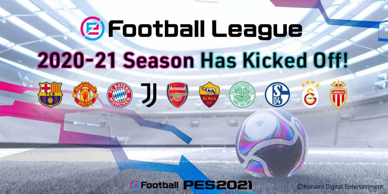efotball league pes