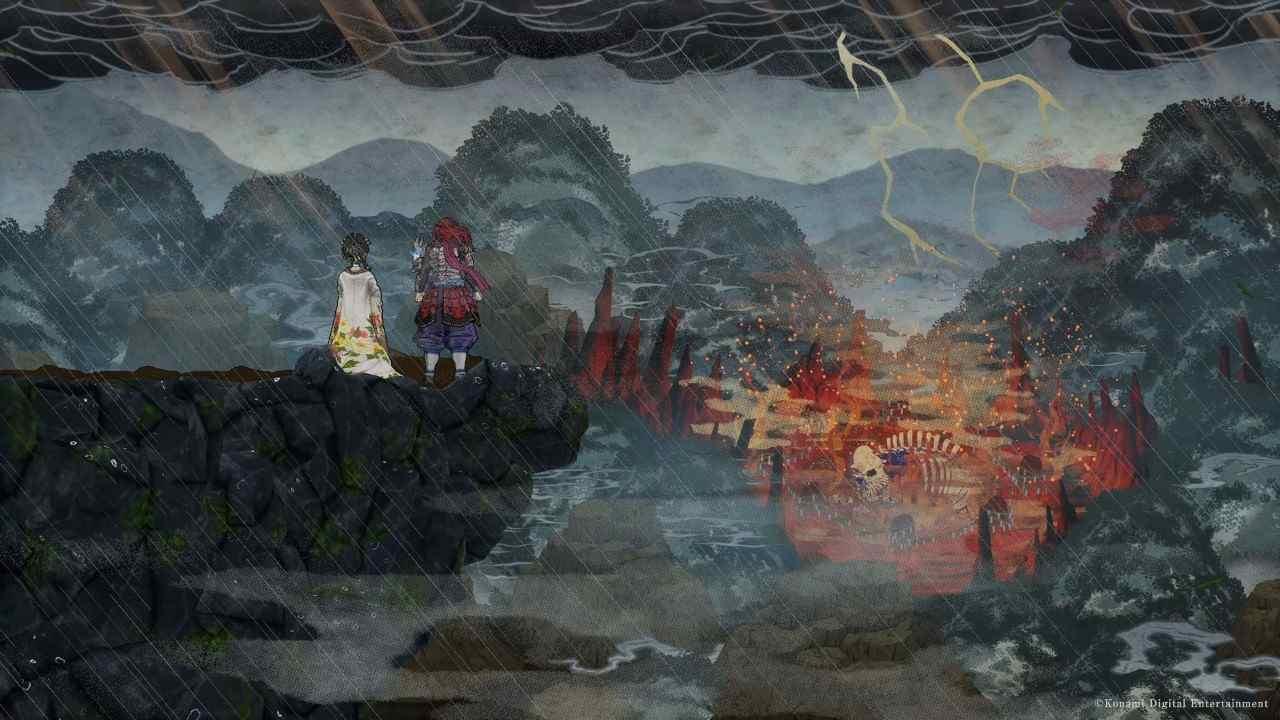 GetsuFumaDen: Undying Moon Konami