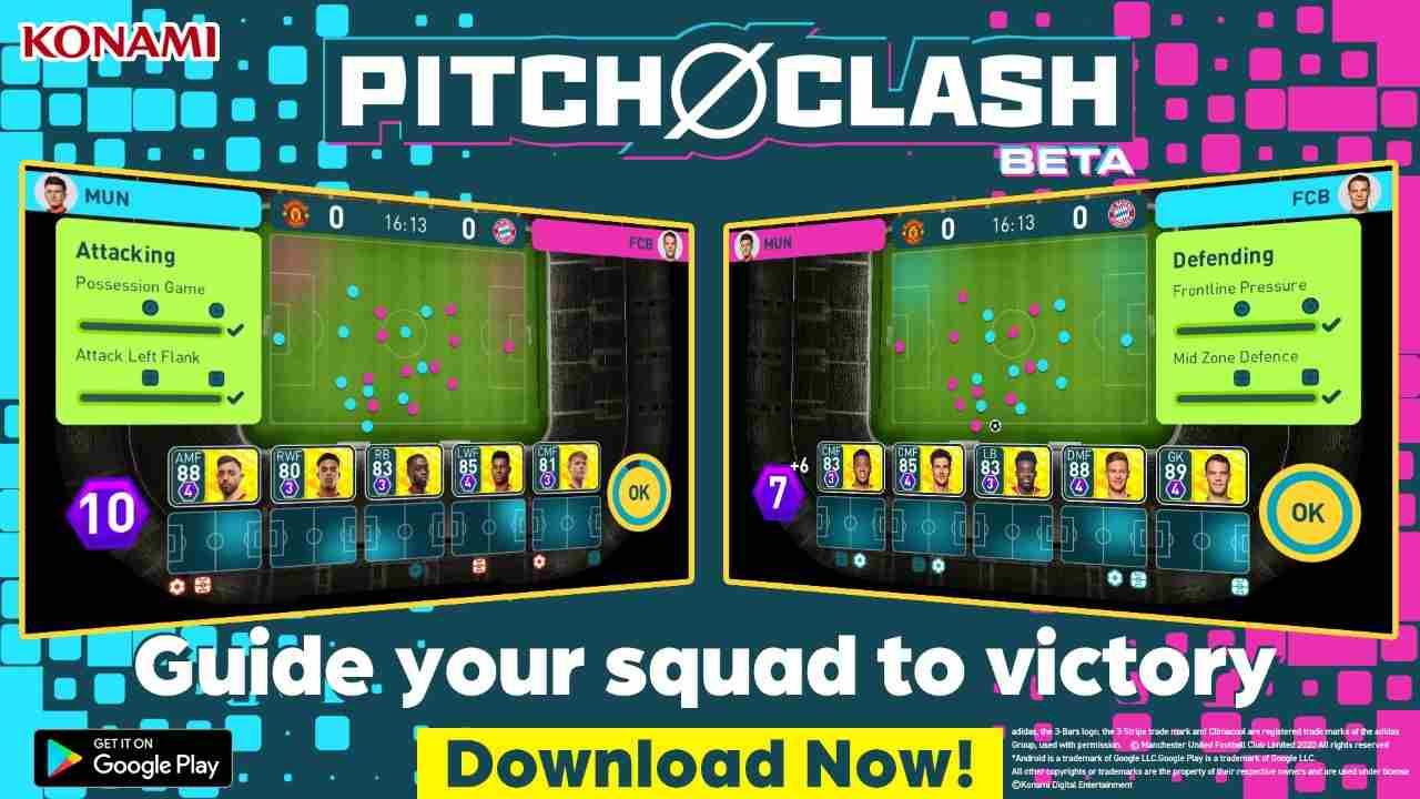 Pitch Clash konami