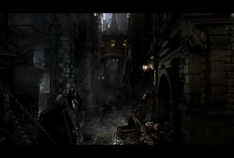 Scena trailer Bloodborne