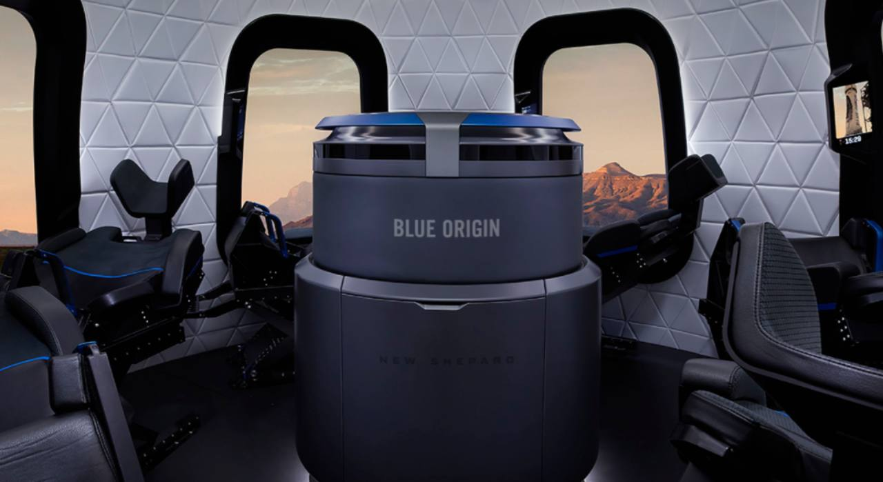 Blue Origin modulo