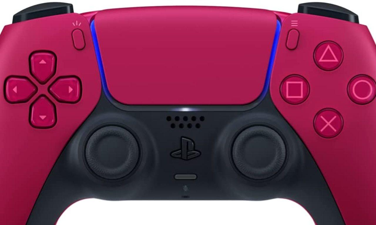 DualSense rosso