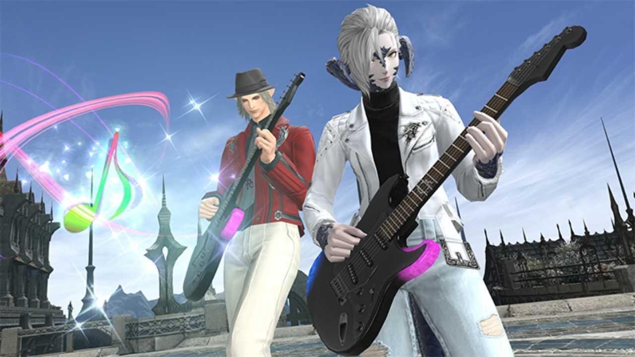 Final Fantasy 14: c'è la data lancio PS5 e una sorpresa firmata Fender