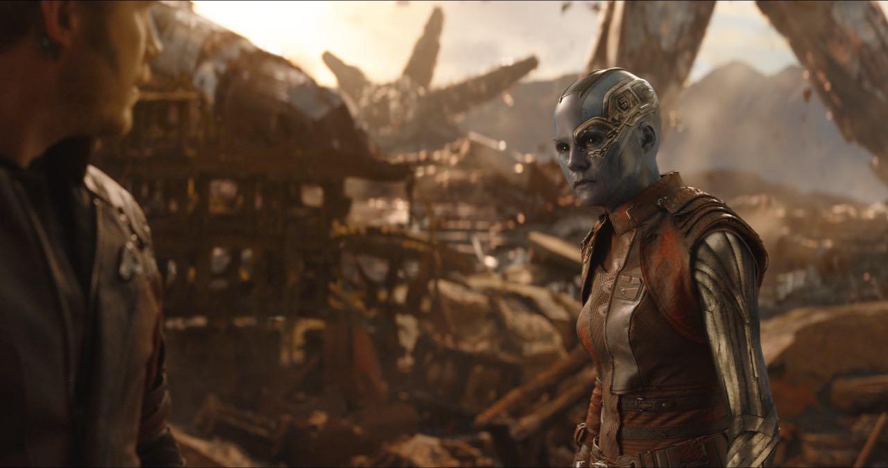 Gamora Starlord Guardiani della Galassia