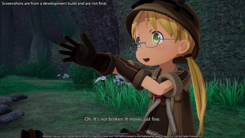 Scena videogame Made in abyss