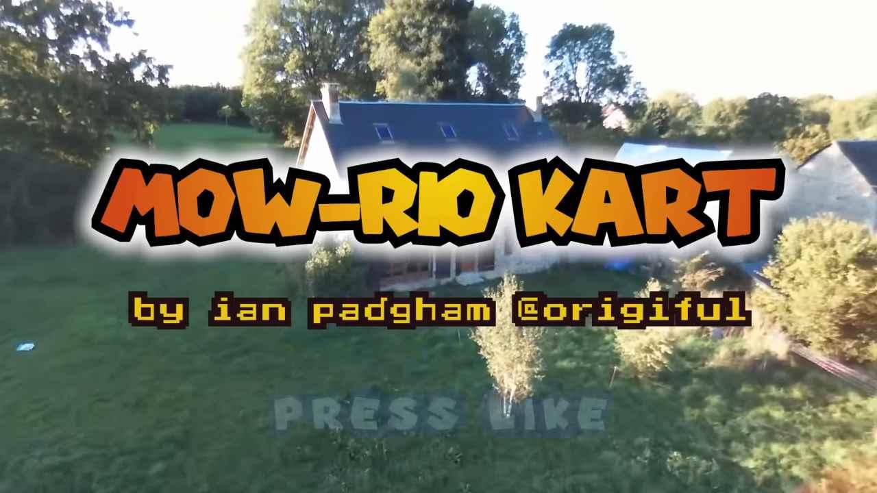 Mario Kart live: Home Circuit diventa reale con un tosaerba - VIDEO
