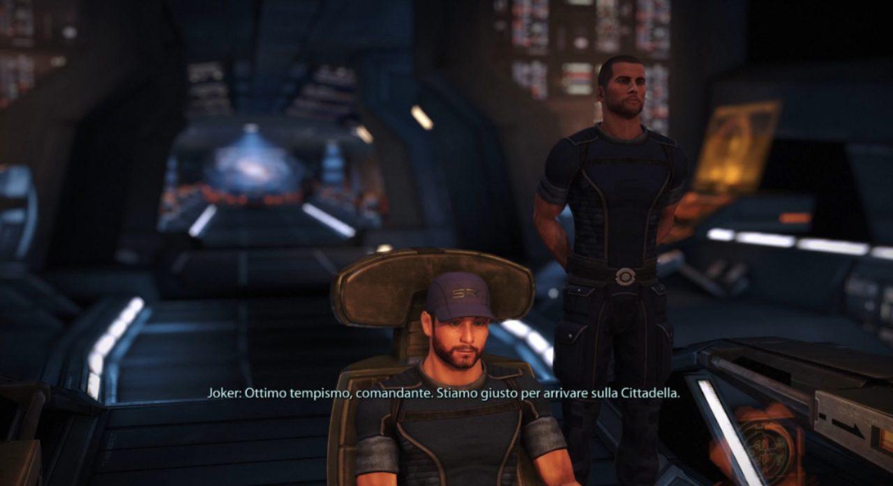 Mass Effect Shepard e Joker