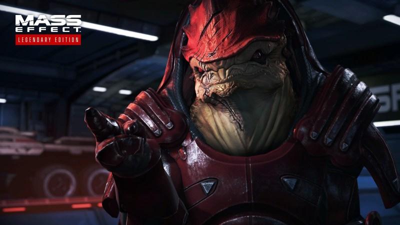 personaggio videogioco Mass Effect legendary edition