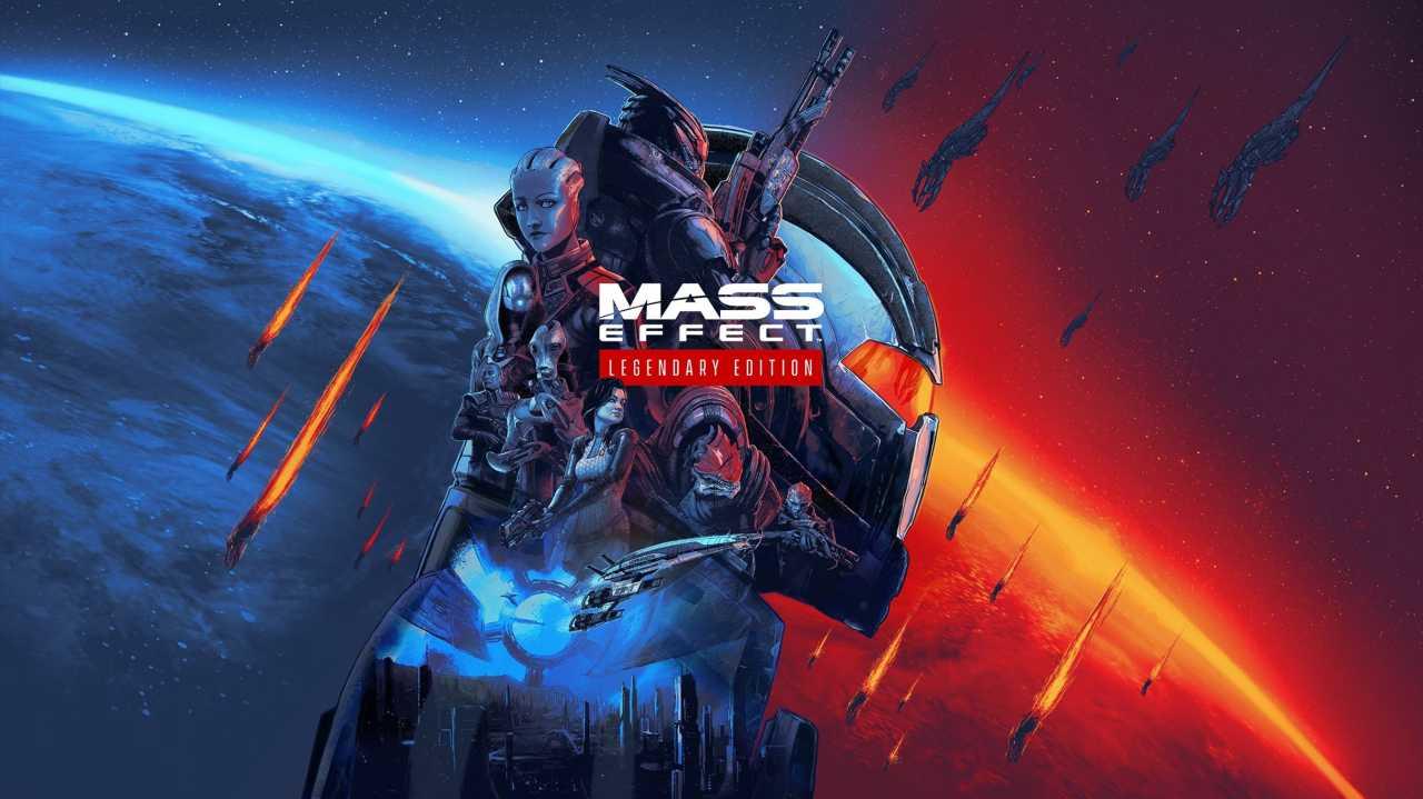 Locandina videogioco Mass Effect legendary edition