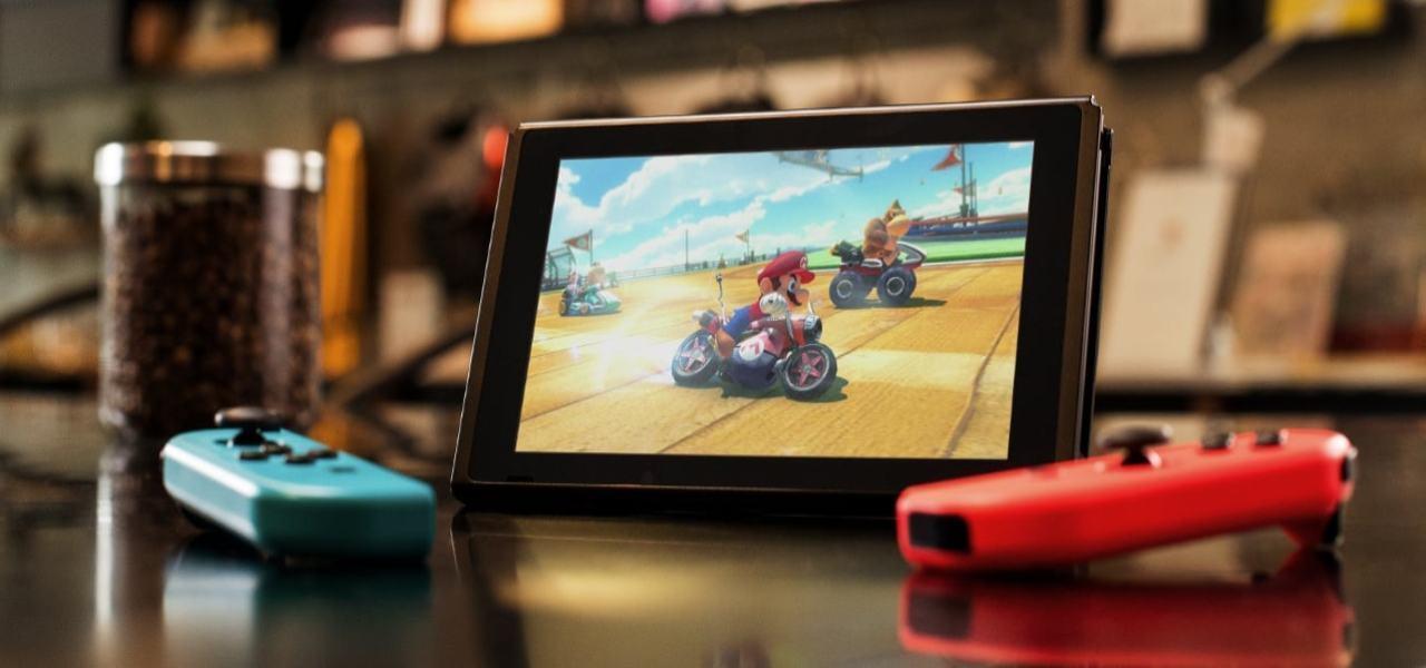 Nintendo Switch Supermario Kart