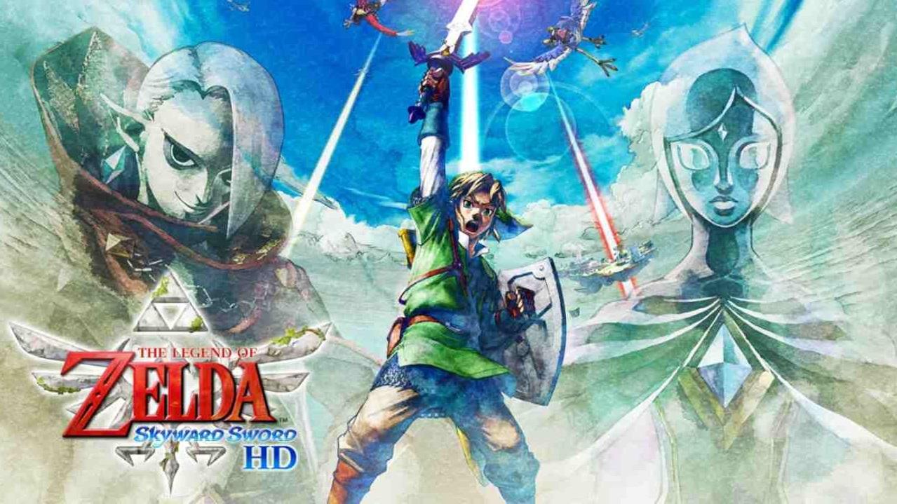 gameplay The Legend of Zelda Skyward Sword HD