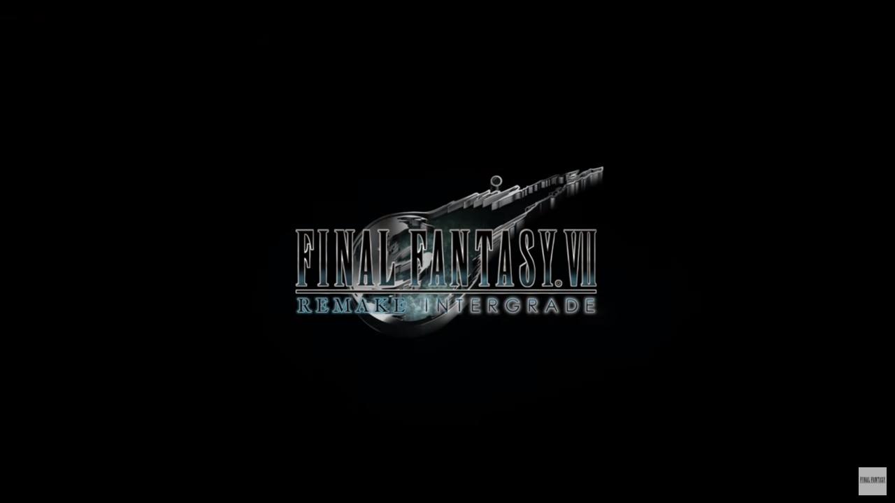 final fantasy vii remake intergrade locandina