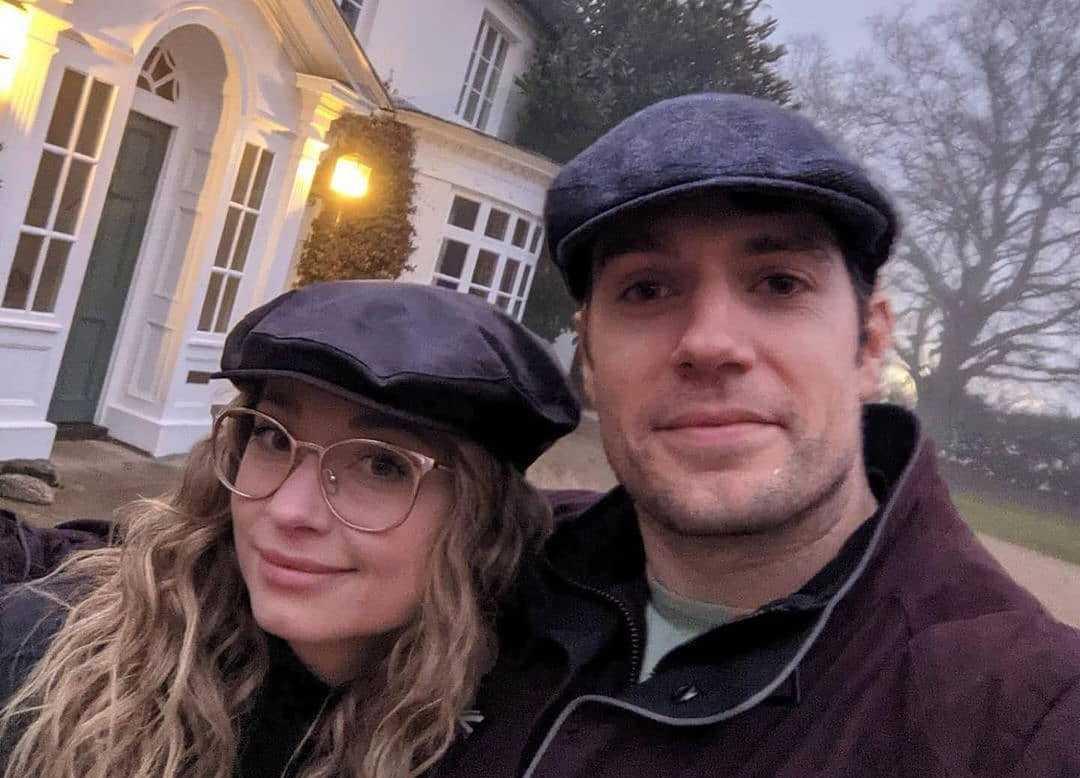 Henry Cavill e Natalie Viscuso
