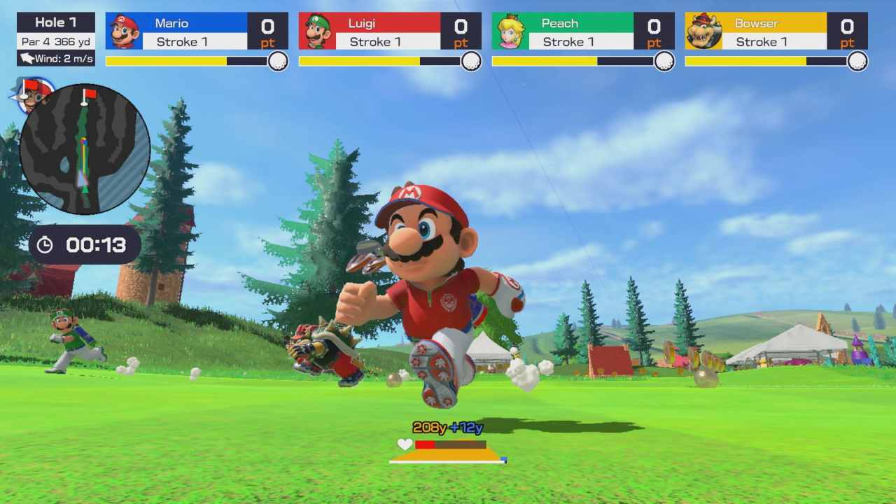 mario golf super rush trailer