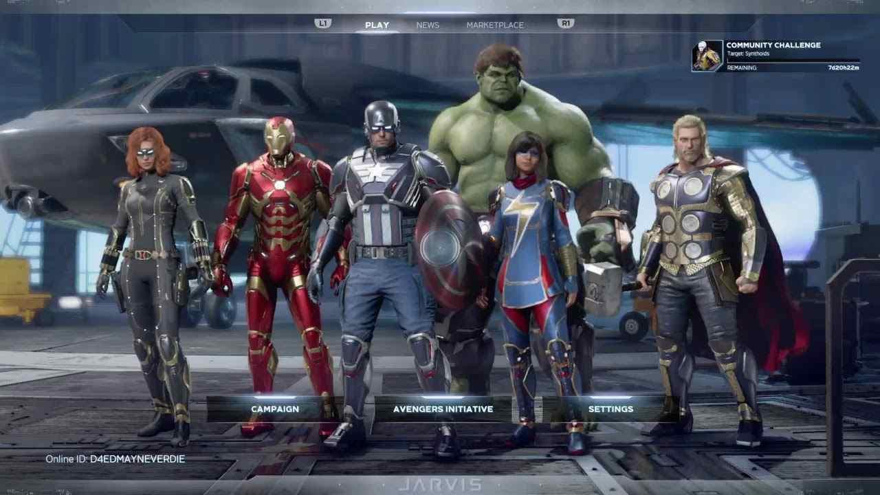marvel's avengers hulk skin