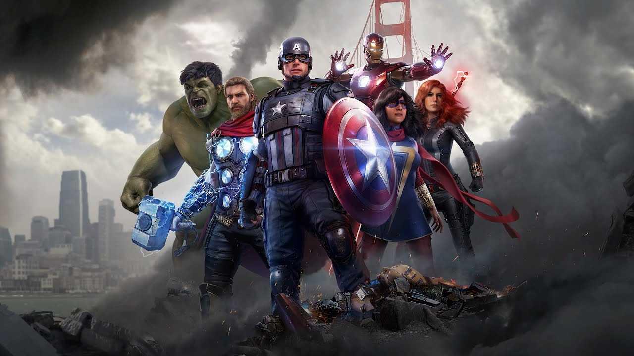 marvel's avengers amazon
