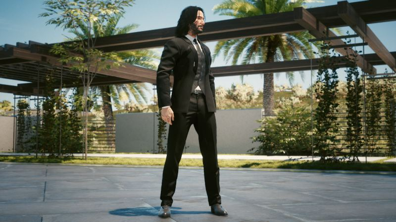 "Mod ""Suit Up"" Cyberpunk 2077"
