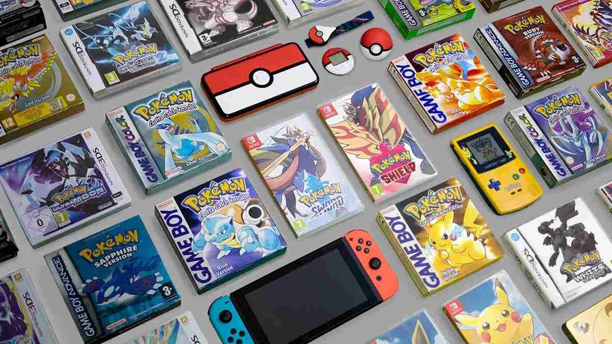 collezione videogiochi pokémon nintendo switch