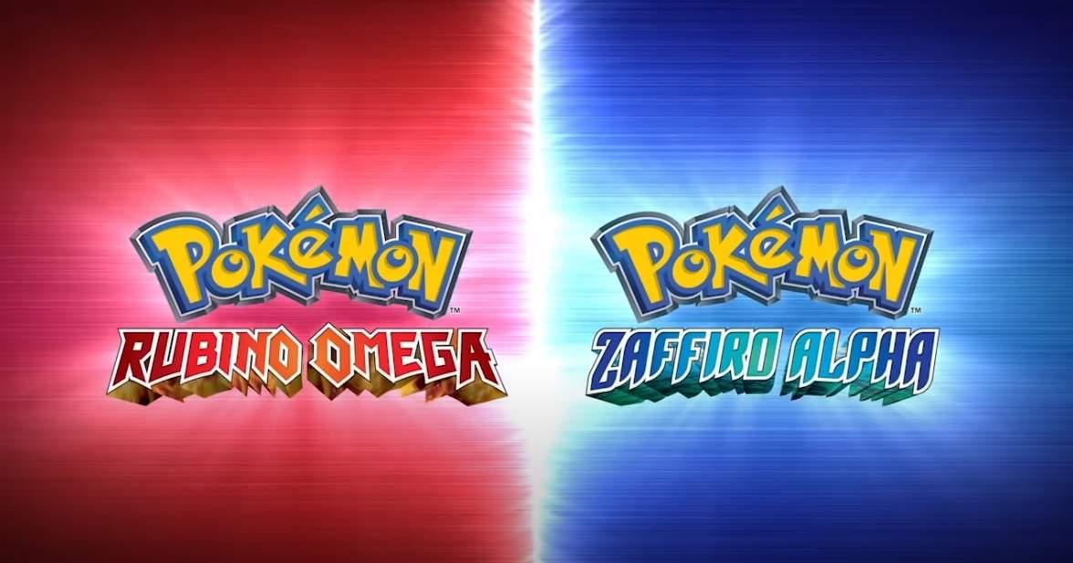 pokémon rubino omega e pokémon zaffiro alpha