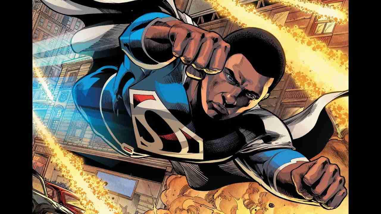 superman di colore