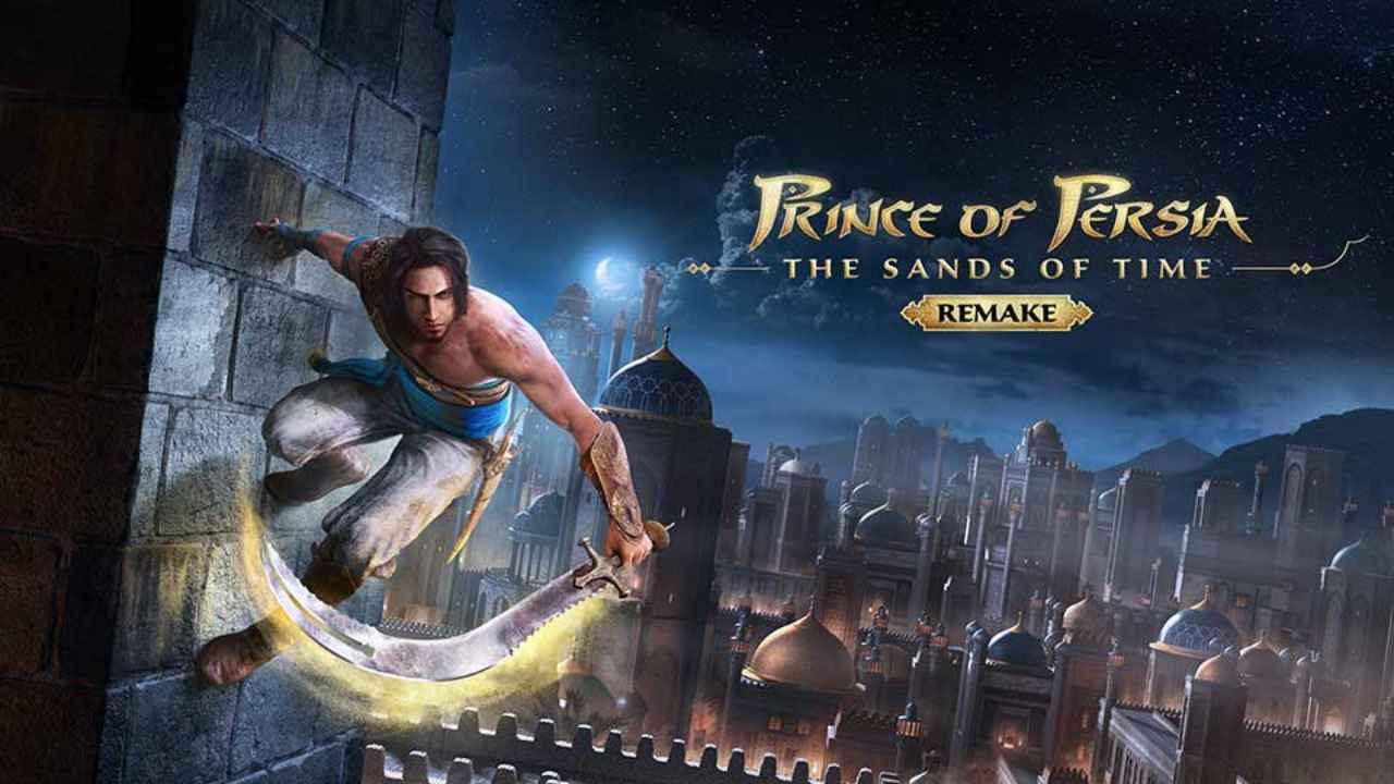prince of persia remake lancio