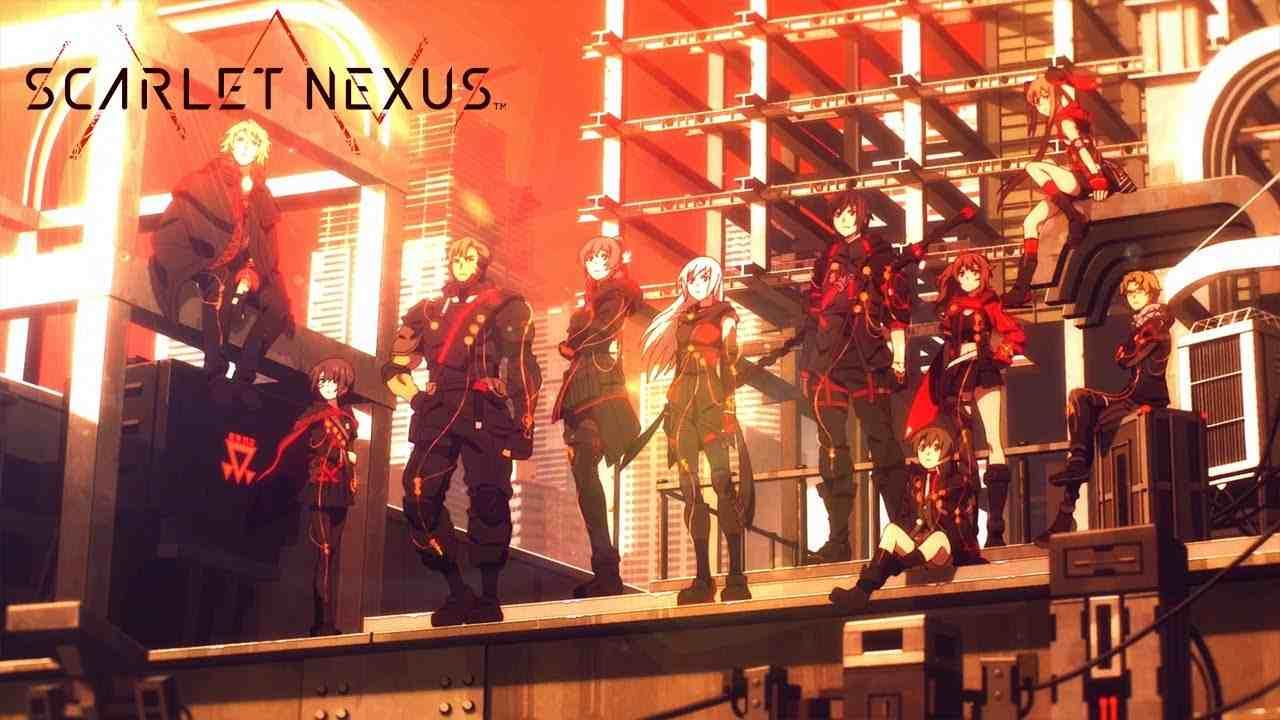 scarlet nexus scena apertura
