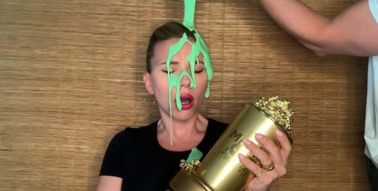 Scarlett Johansson agli MTV Awards