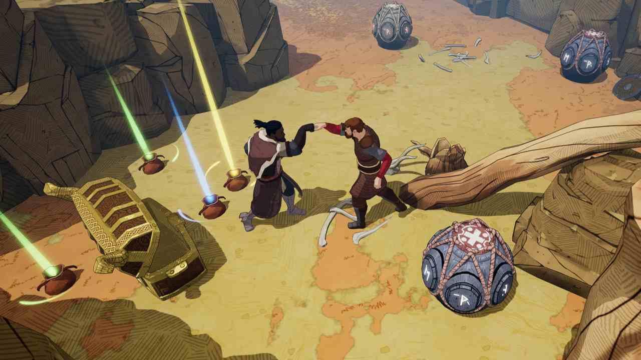 Che cosa c'è dentro Tribes of Midgar di Gearbox Publishing e Norsfell?