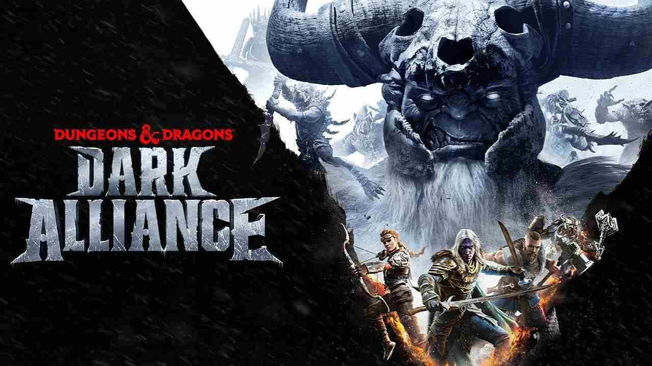 Dungeons and Dragons Dark Alliance gameplay