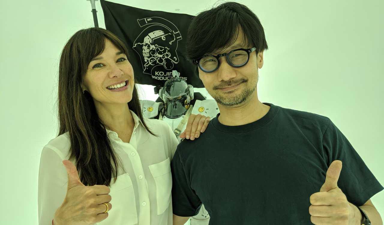 Hideo Kojima e Jade Raymond