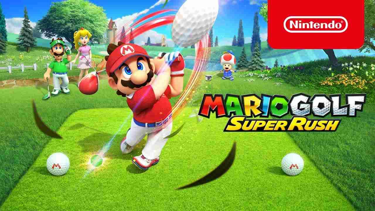 mario golf super rush multigiocatore